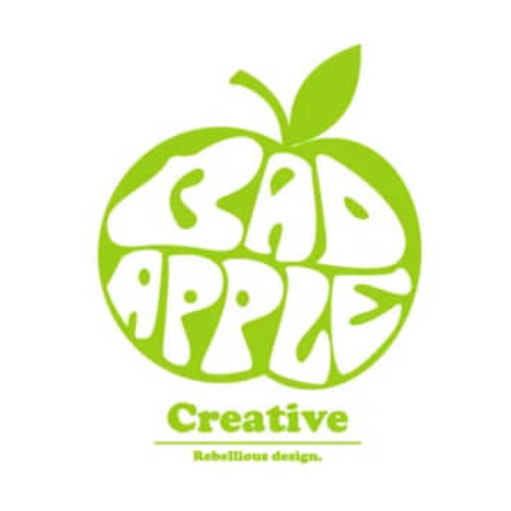 Bad Apple Design Logo